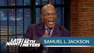 Download Samuel L. Jackson Finds Out He's in a Feud with Donald Trump - Late Night with Seth Meyers Video