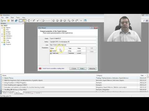 MQL5 Tutorial   6 Create your first Expert Advisor in 2 minutes