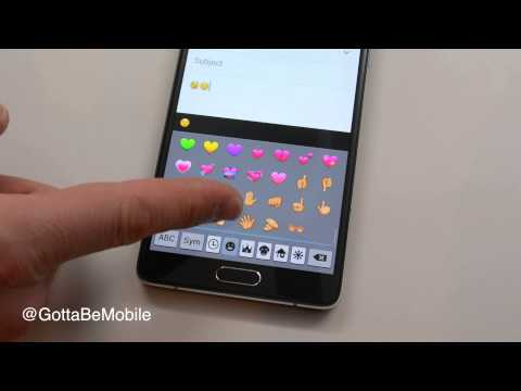 How to Use Galaxy Note 4 Emoji