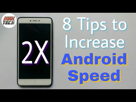 How to make Android Faster | 8 Tips to increase Speed | in Hindi | MAK TECH