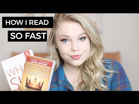 how I read 16 books a month!