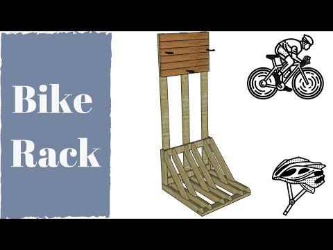 Verical Bike Rack Plans