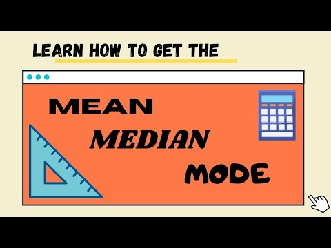 Mean, Median, Mode of Grouped Data