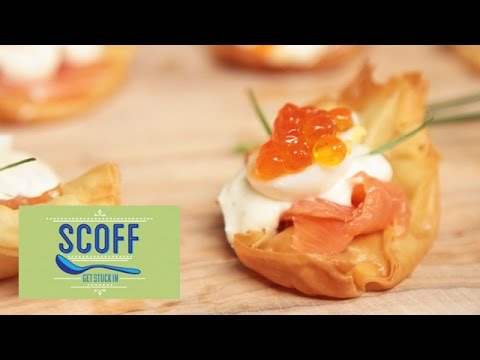 Olivia's Salmon And Quail Egg Bites | Friday Food Off Series 1 Part 3