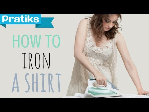 How to iron a shirt: Lea's tips