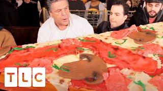 Absolutely Massive Pizza Slice Cake! | Cake Boss