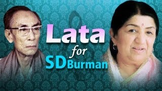 Lata Mangeshkar for S.D Burman Jukebox 1 (HD)  - Top 10 Lata & S.D.Burman Songs
