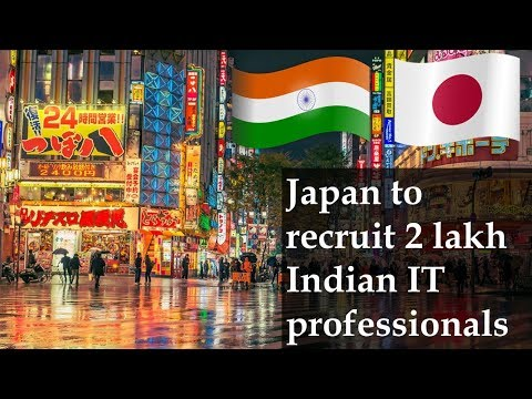 Japan to recruit 2 lakh Indian IT professionals after US makes visa difficult