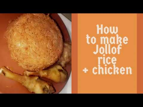 HOW TO MAKE JOLLOF RICE + CHICKEN STEW | MUNASKITCHENN