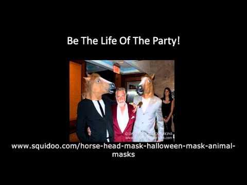 Horse head costume masks