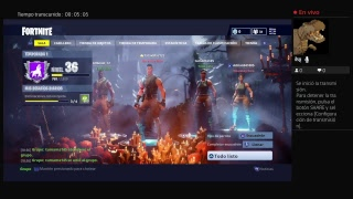 Playing Fortnite with friends