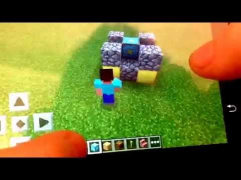 minecraft pe how to make a nether portal 0.10.4