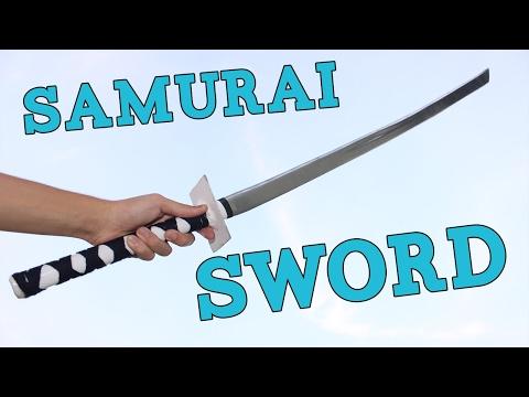 How to Make a Ninja Sword (KATANA)