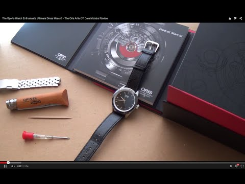 The Sports Watch Enthusiast's Ultimate Dress Watch? - The Oris Artix GT Date Midsize Review