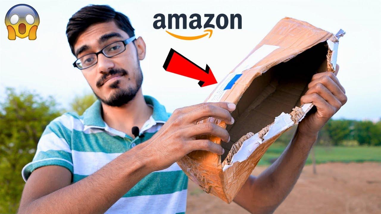 Amazon Sent Me Empty Box😡 | अमेज़न से मंगवाया सामान, अंदर माल गायब | Be Aware