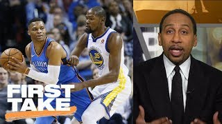 Stephen A. Smith loves the Kevin Durant-Russell Westbrook hostility | First Take | ESPN