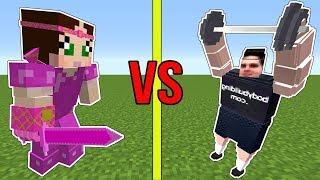 Minecraft: POPULARMMOS VS GAMINGWITHJEN!!! - WHO IS STRONGEST?!?