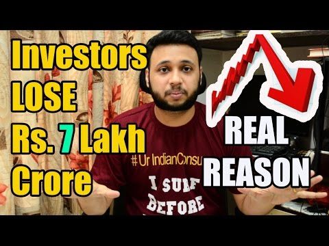 Indian Stock Market fall REAL REASON....With SOLUTION ! By Ur IndianConsumer