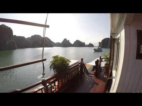 Dragons Pearl, Indochina Junk Review, 3D2N tour @ Halong Bay, Vietnam