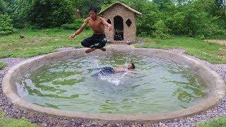 Build Underground Swimming Pool at Wild