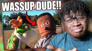 BOWSER JR. PRANKS A BLACK GUY! | SML Movie: Bowser Junior's YouTube Channel Reaction!