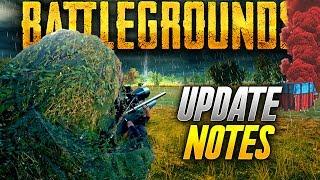 Battlegrounds: EPIC NEW UPDATE INFO TODAY! (Playerunknown