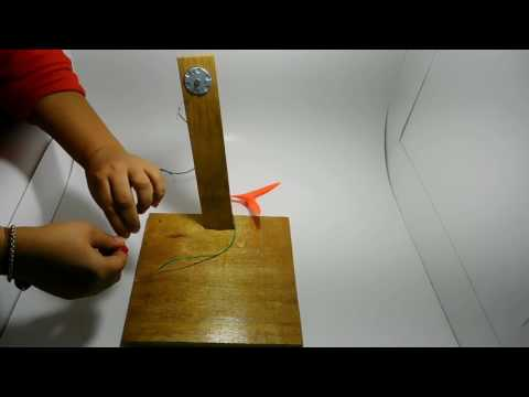 how to make WINDMILL electricity generator