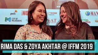 Rima Das & Zoya Akhtar at IFFM 2019 I Rajeev Masand