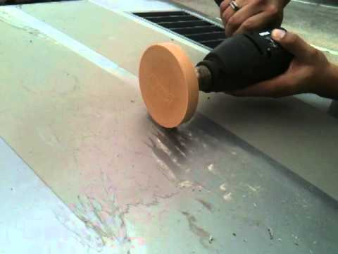 How to remove vinyl decals from auto paint the easy way with the Norton Eraser