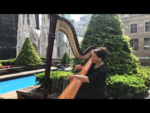 Harp Player for your Wedding Ceremony by Wedding Packages NYC