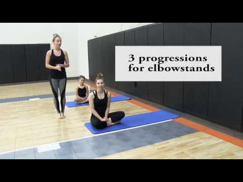 How to do an elbow or forearm stand