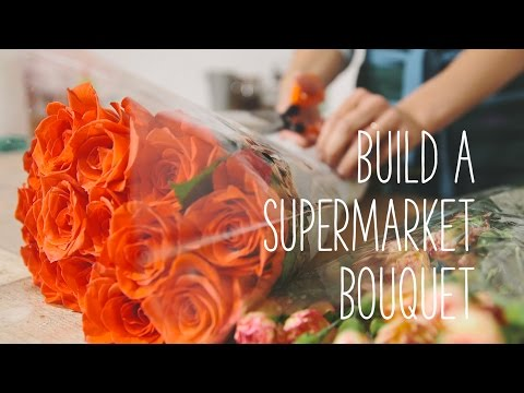 Simple Solutions - Build a bouquet from supermarket flowers