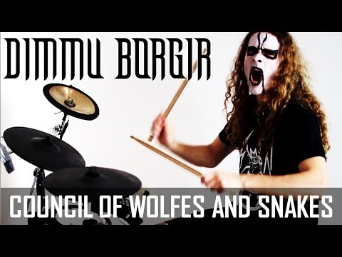 Dimmu Borgir - Council of Wolves and Snakes - Eonian 2018 drum cover