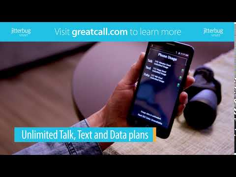 Unlimited Cell Phone Plans Now Available for the Jitterbug Smart | GreatCall