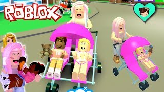 Roblox Adopt Me With Baby Goldie S New Family Stroller Updates