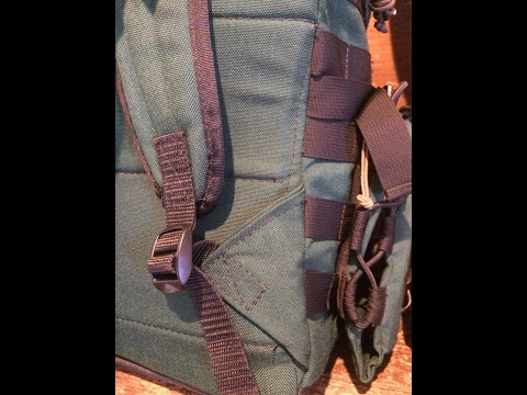 Making a backpack: attaching backpack strap bottoms