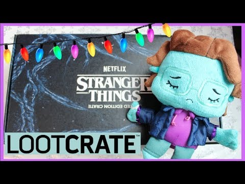 Stranger Things Loot Crate Unboxing - I found Barb!