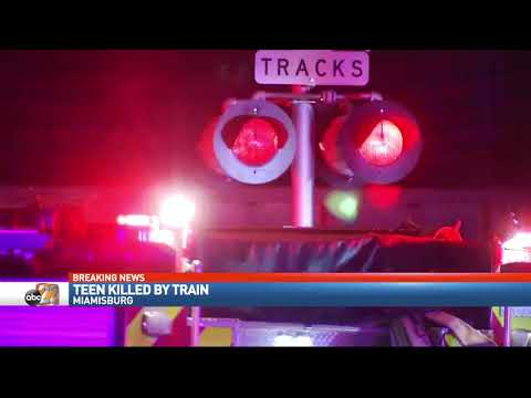 Teen hit and killed by train in Miamisburg