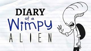 Diary of a Wimpy Alien (Wimpy Kid / Alien Parody)