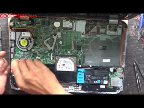 Dell Inspiron 15z | P26F | How to replace HDD.