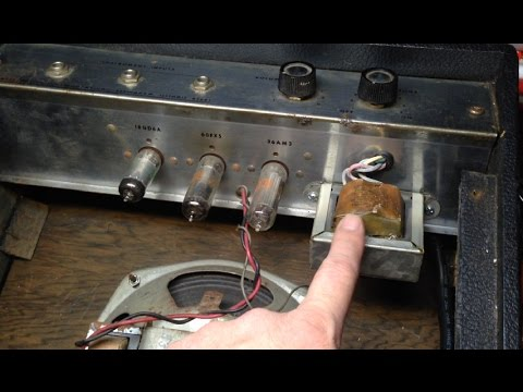 Installing an Isolation Transformer in a Vintage Guitar Amp