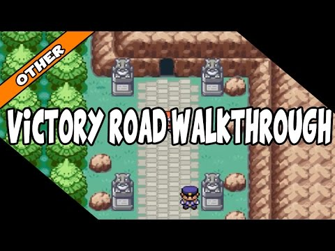 Pokemon Fire Red Victory Road Walkthrough