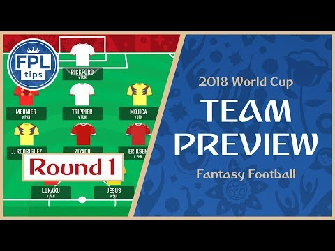 ROUND 1: TEAM SELECTION: Play the Bench Boost Chip? | WORLD CUP 2018 Fantasy Football Preview