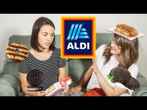 Tasting VEGAN Food from ALDI - DESSERTS Edition