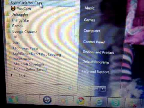 windows 7, how to find your webcam