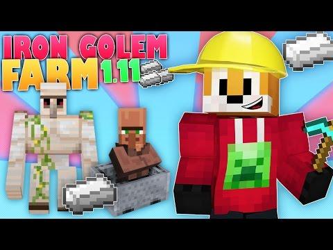 Minecraft Survival | IRON GOLEM FARM | Foxy's Survival World [114]