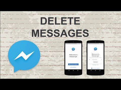 How to delete messages on Facebook Messenger | Mobile App
