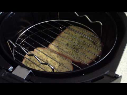 Air Fryer GARLIC BREAD Homemade toast AIRFRYER