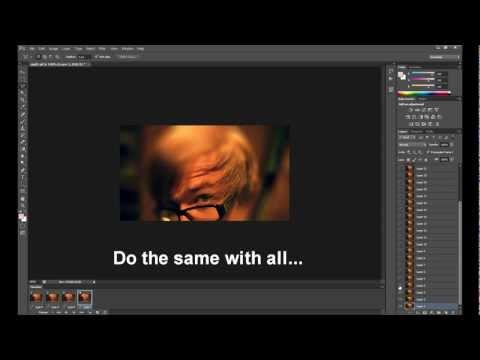 Photoshop CS6: GIF Effects (Blur Effect - Deeph of field)