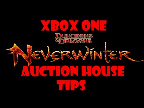 Neverwinter Xbox One - Auction House Tips